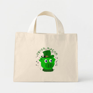 Funny Irish Bacon Small Tote Bag