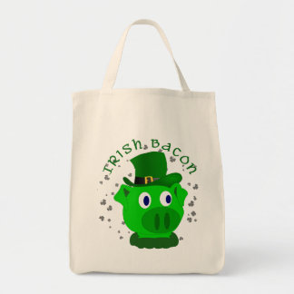 Funny Irish Bacon Tote Bag