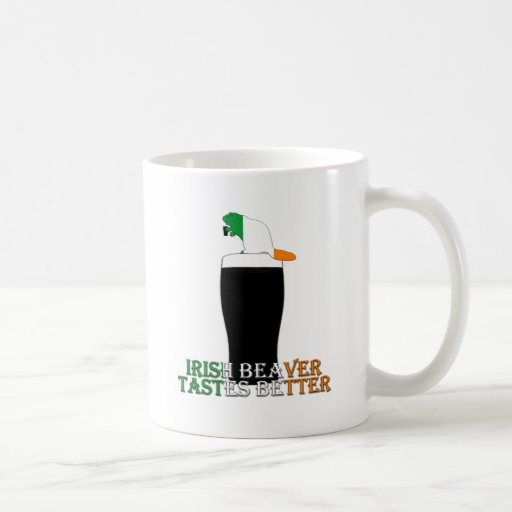 Funny Irish beaver Mug