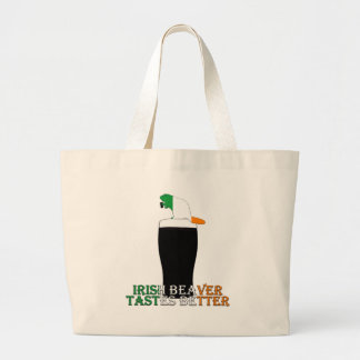 Funny Irish beaver Bag