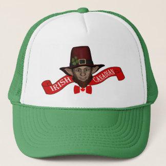 Funny Irish Canadian St Patrick's day Trucker Hat