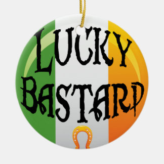 Funny Irish Christmas Ornament