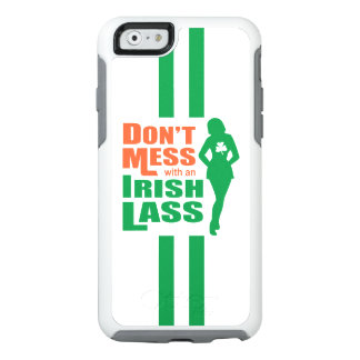 Funny Irish Lass Slogan OtterBox iPhone 6/6s Case