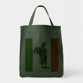Funny Irish leprechaun St. Patrick's day bag