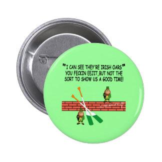 Funny Irish leprechauns 6 Cm Round Badge