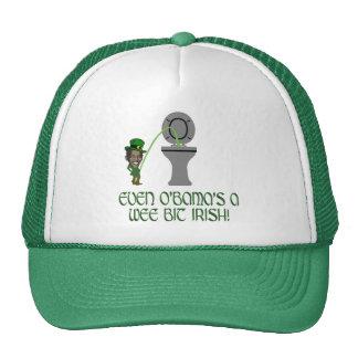 Funny Irish Obama Cap