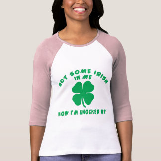 Funny Irish Pregnant Maternity T-Shirt