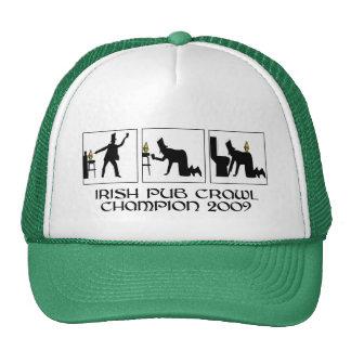 Funny Irish pub crawl Hats