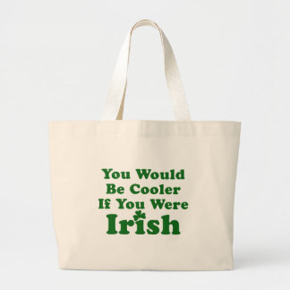Funny Irish Saying Jumbo Tote Bag