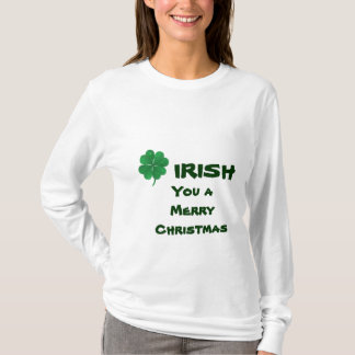 Funny Irish Shamrocks Christmas shirt