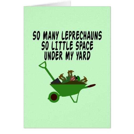 Funny Irish slogan Card