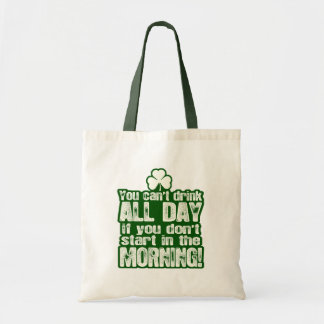 Funny Irish St Patrick's Day Tote Bags