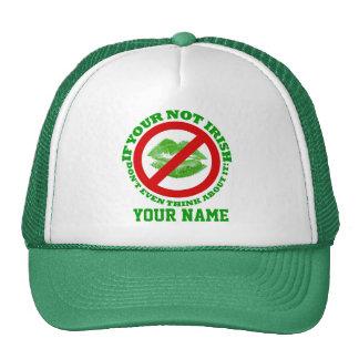 Funny Irish, St Patrick's day Cap