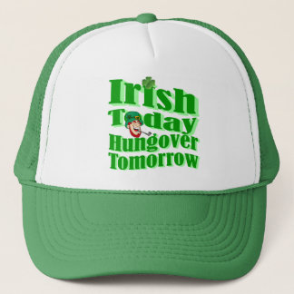 Funny Irish St Patrick's day Trucker Hat