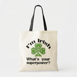 Funny Irish Superpower Shamrock