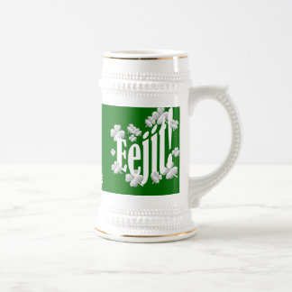 funny Irish text Beer Stein