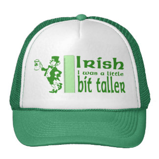 Funny Irish Wish Leprechaun Hat