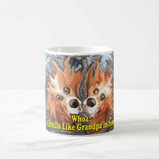 Funny It smells like grandpa in here! Coffee Mug