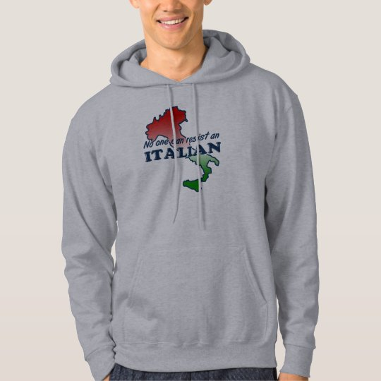 Funny Italian Hooded Sweatshirt