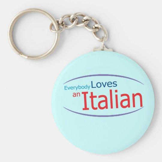 Funny Italian Keychain