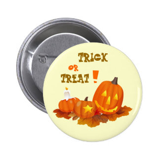 Funny Jack O'Lanterns Halloween Buttons
