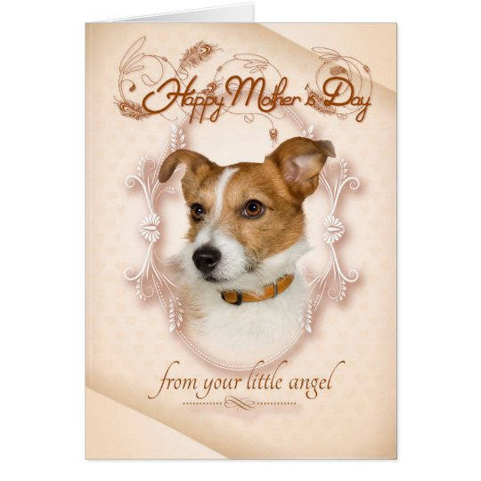 Funny Jack Russell Mother's Day Card