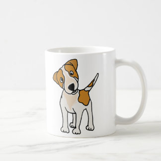 Funny Jack Russell Terrier Puppy Dog Coffee Mug