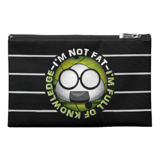 Funny Japanese Riceball Travel Accessory Bags