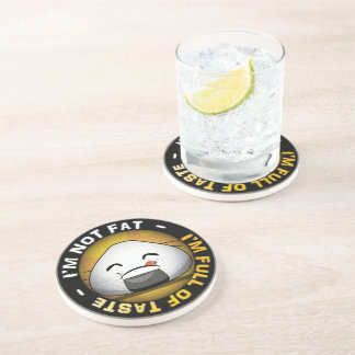 Funny japanese riceball beverage coaster