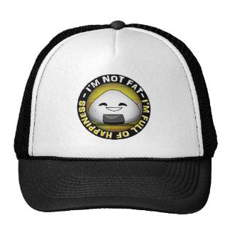 Funny japanese riceball trucker hat