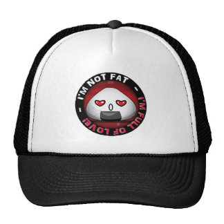Funny japanese riceball trucker hats