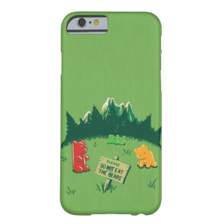Funny Jelly Bears at Mountains Barely There iPhone 6 Case