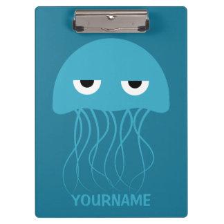 Funny Jellyfish custom clipboard