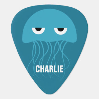 Funny Jellyfish custom guitar picks