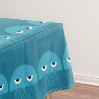 Funny Jellyfish table cloth
