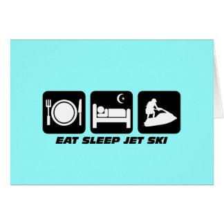 Funny jet ski card