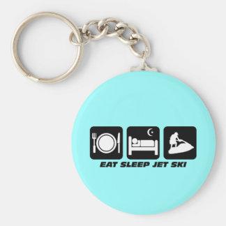 Funny jet ski key ring