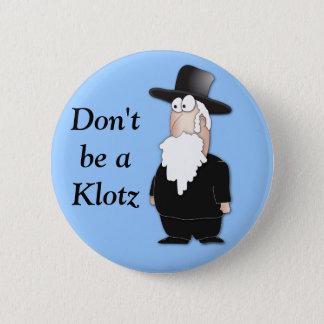 Funny Jewish rabbi - cool cartoon 6 Cm Round Badge