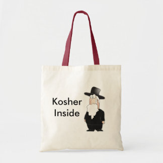Funny Jewish rabbi - cool cartoon Tote Bag