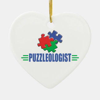 Funny Jigsaw Puzzle Christmas Ornament