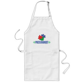 Funny Jigsaw Puzzle Long Apron
