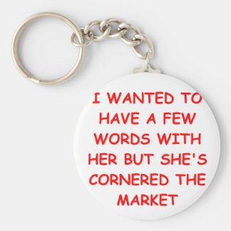funny jokes for you basic round button key ring