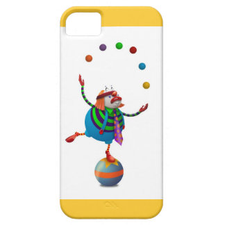Funny Juggling Clown iPhone 5 Case