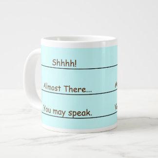 Funny Jumbo Coffee Wake Up Mug Jumbo Mugs