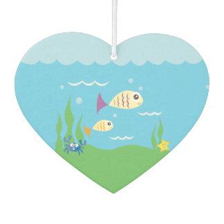 Funny Just Keep Swimming Underwater Ocean Fish Car Air Freshener