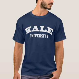 Funny Kale University Parody College Humor T-Shirt