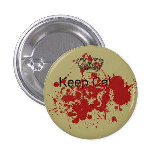 Funny Keep Calm 3 Cm Round Badge