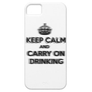 Funny Keep Calm And Carry On Drinking Case For The iPhone 5