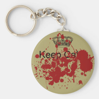 Funny Keep Calm Key Ring