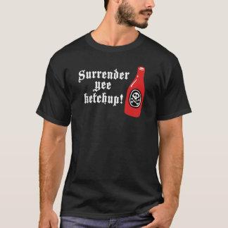 Funny Ketchup Pirate T-Shirt